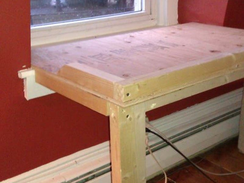 Brighten Your Dog S Life With A Homemade Window Seat