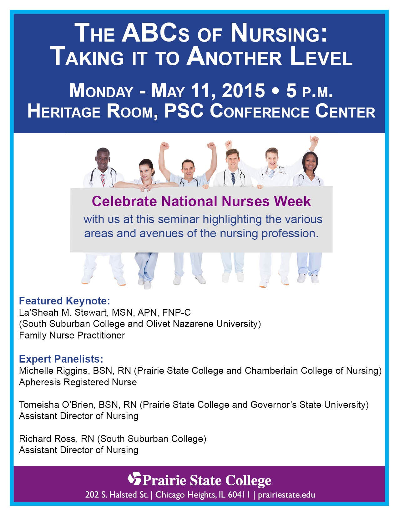 The ABCs of Nursing: Taking it to Another Level - May 11 at