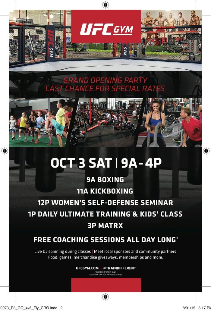 First UFC GYM in Maryland Celebrates Grand Opening in Crofton