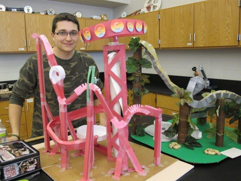 West Essex High School Students Build Roller Coasters Caldwells
