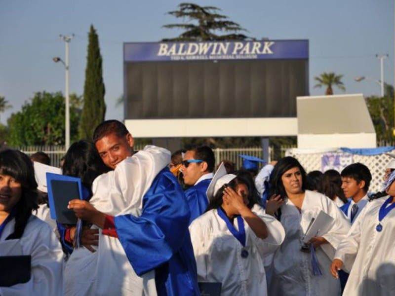 Graduation Rate 87 8 At Baldwin Park High 92 At Sierra Vista