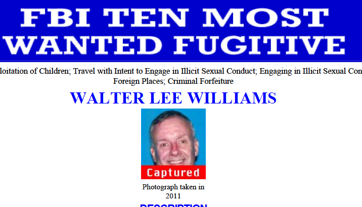 Man on FBI's Top 10 Most Wanted List Arrested in Mexico