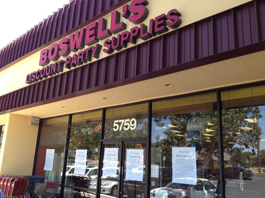 Boswell S Party Supplies Now Closed Pleasant Hill Ca Patch