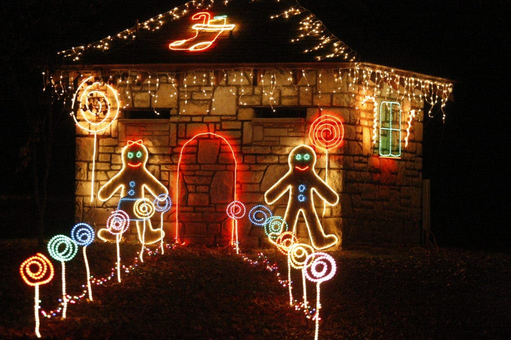 Tilles Park Christmas Lights.27 Years Of Winter Wonder Photos From Tilles Park Eureka