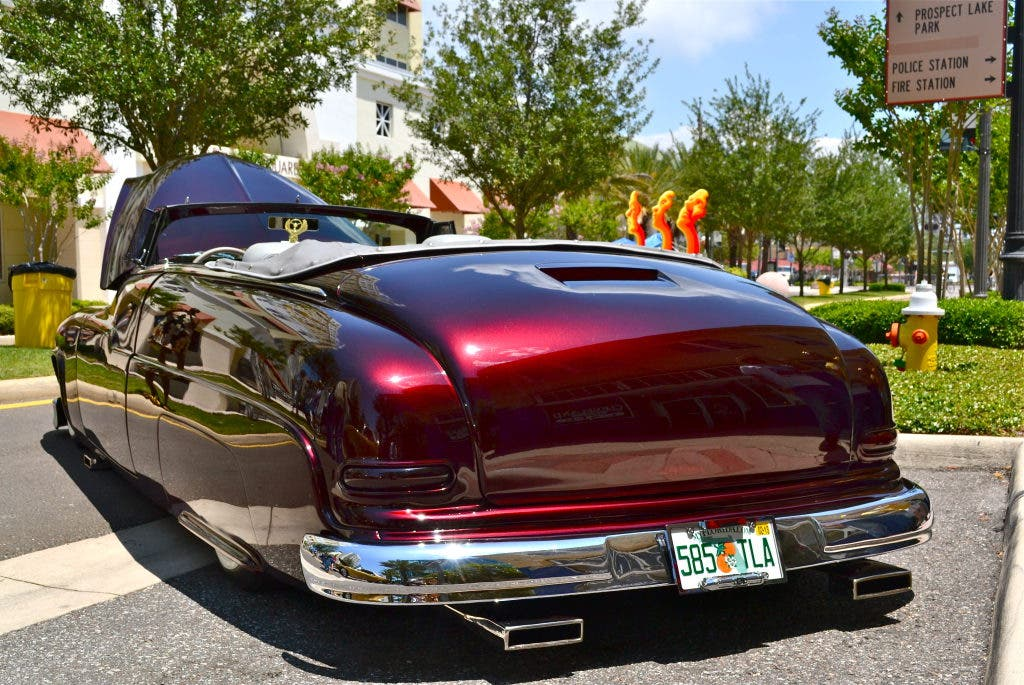 Classic Cars Line Cleveland Street on Saturday   Clearwater