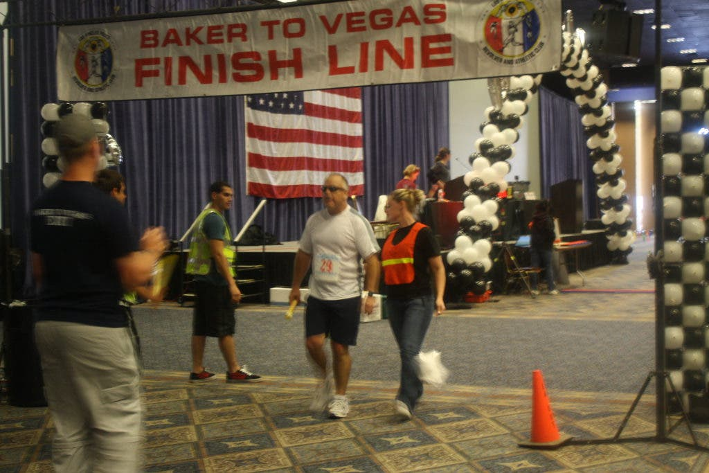 Murrieta Police Take First Place in Annual Baker to Vegas