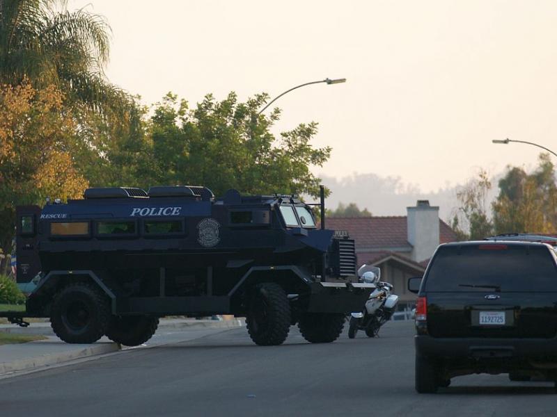 Murrieta Police SWAT Team Responds to Report of Suicidal
