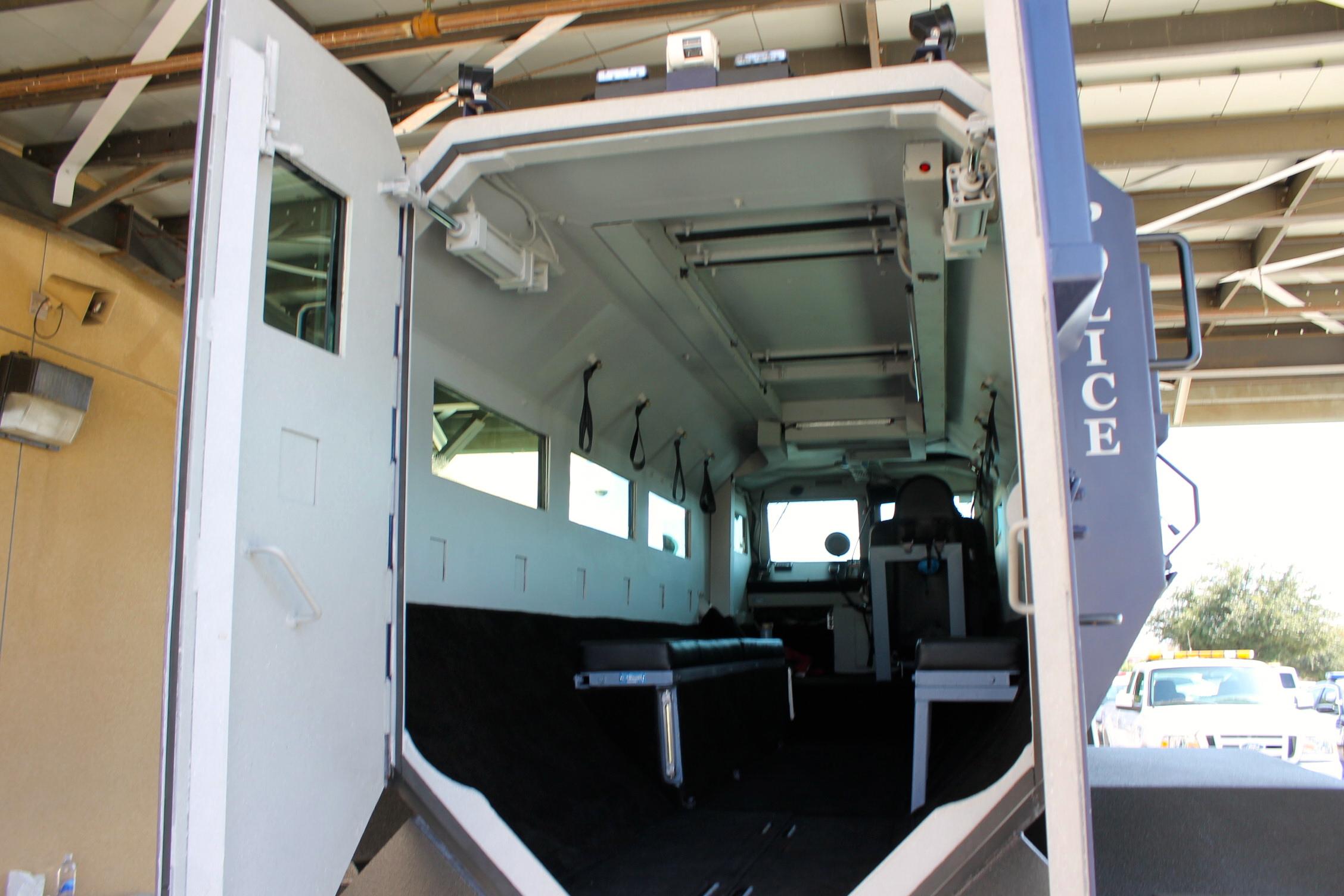Murrieta Police Acquire New Armored SWAT Truck