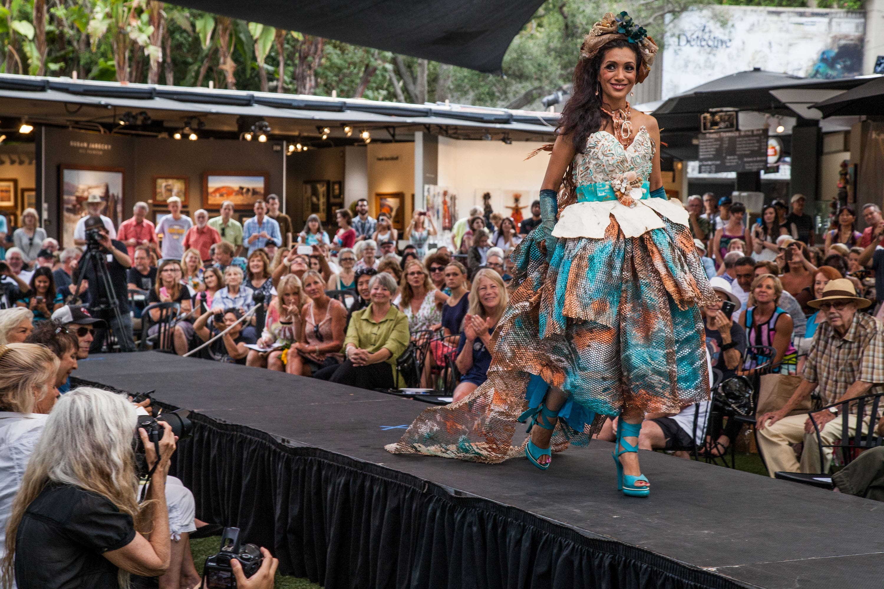 Fashion Gets Re Invented With An Artistic Twist At Festival Of Arts Runway Fashion Show Laguna Beach Ca Patch