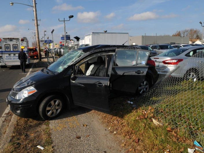 Driver Hospitalized in Hempstead Turnpike Accident