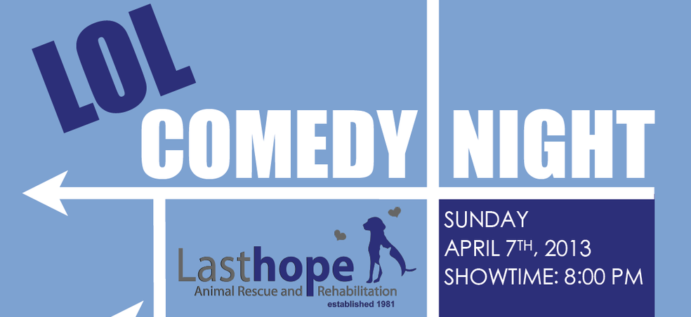Governor's Comedy Show to Benefit Last Hope Animal Rescue