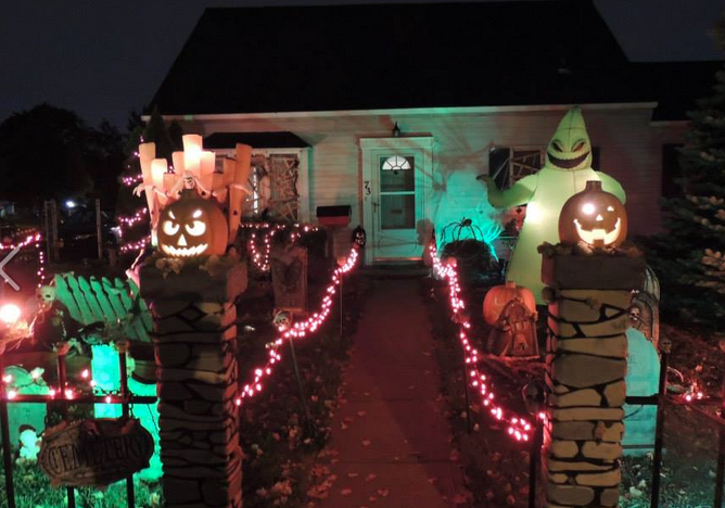 Halloween 2020 Levitown Is This Levittown's Best Halloween House? | Levittown, NY Patch