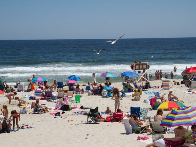 State Opens New Swimming Area With Lifeguards At Island ...