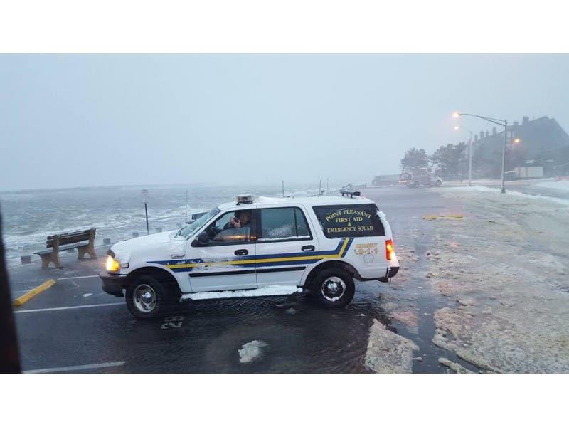 N J Blizzard Point Pleasant Beach Updates