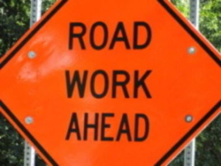 Line Striping on Alexander Road in Princeton Set for