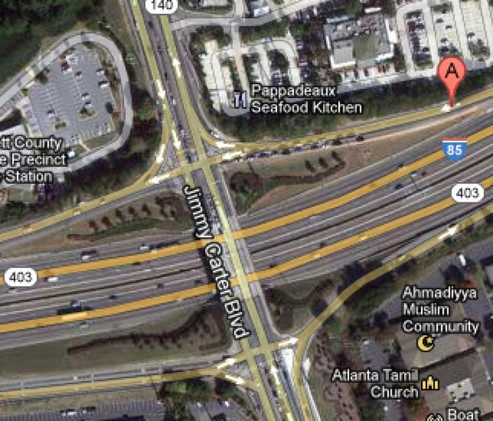UPDATE: One Lane Reopens after Chemical Spill on I85N and