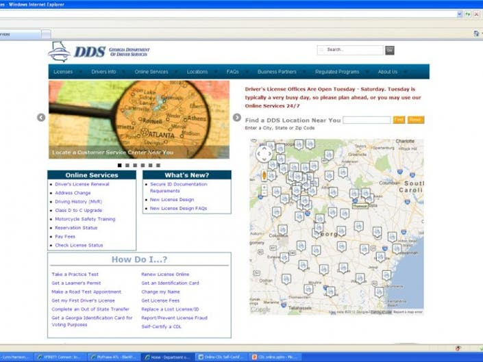 Department of Driver Services Launches Redesigned Website