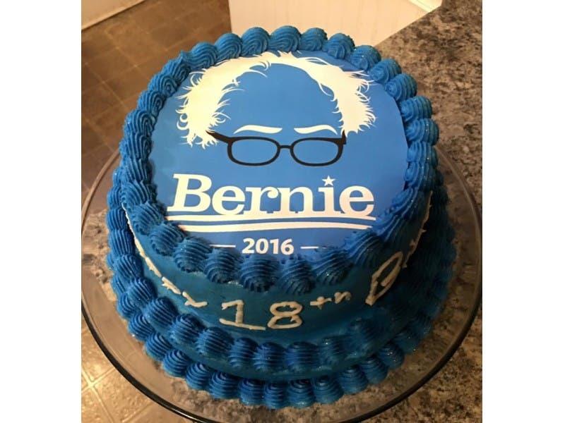 Sweet Sanders Cake Berns Up The Internet WORCESTER MA