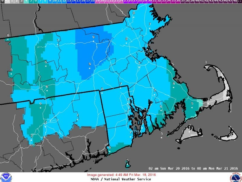 Westborough Weather Forecast: Snowstorm to Welcome Spring