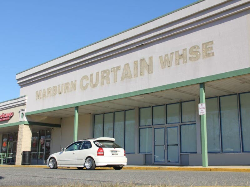 Curtains Still Closed In Vacant Marburn Warehouse Empty Hauppauge