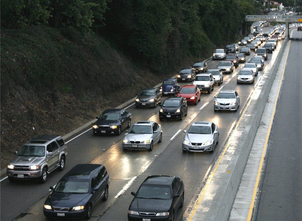 110 Freeway Accident, Commuter Nightmare in Rain | Eagle Rock, CA Patch