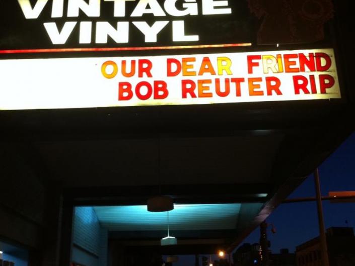 Vintage Vinyl Mourns STL Music Legend Bob Reuter