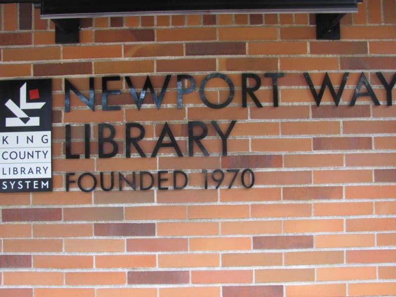Newport Way Library Association Annual Used Book Sale Bellevue Wa