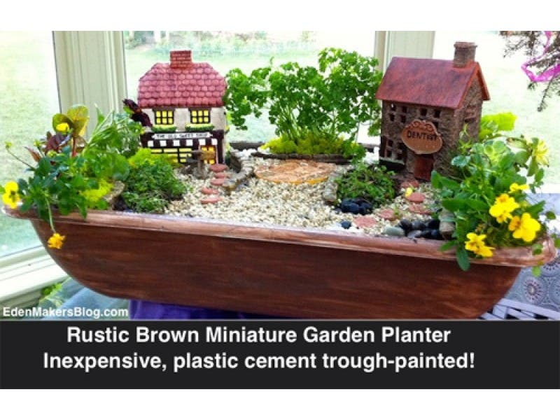 Workshop How To Make Your Own Mini Fairy Garden With Shirley