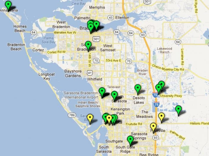 Map Electric Car Charging Stations