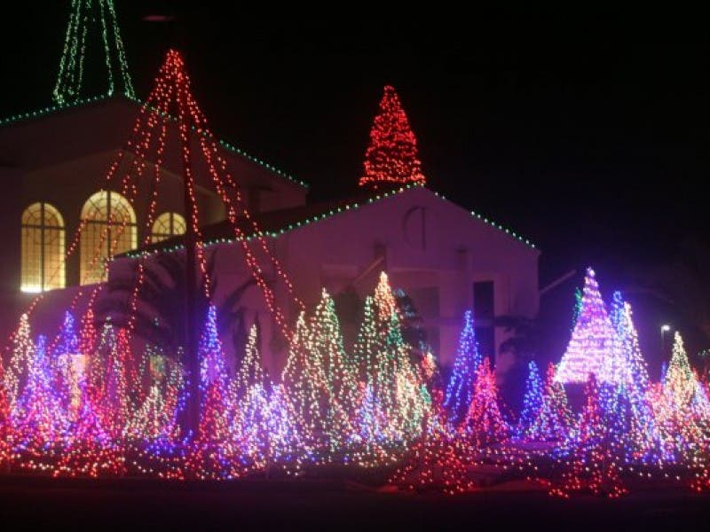 Where To See Holiday Lights In Sarasota Sarasota Fl Patch