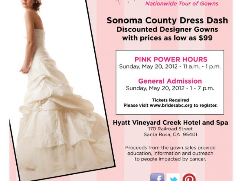The Original Nationwide Tour Of Gowns Charity Dress Dash Wedding Gown Sale