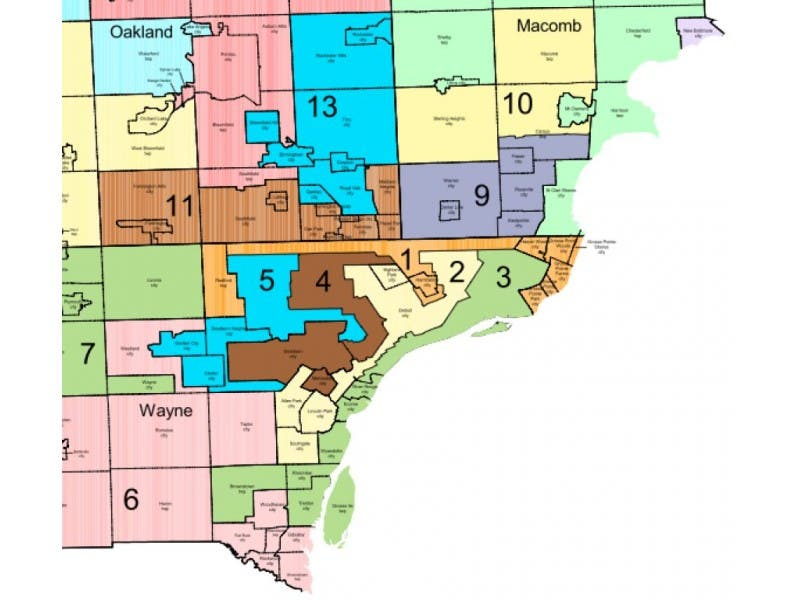 Grosse Point Michigan Map.Michigan Senate Releases Proposed District Map Grosse Pointe Mi Patch