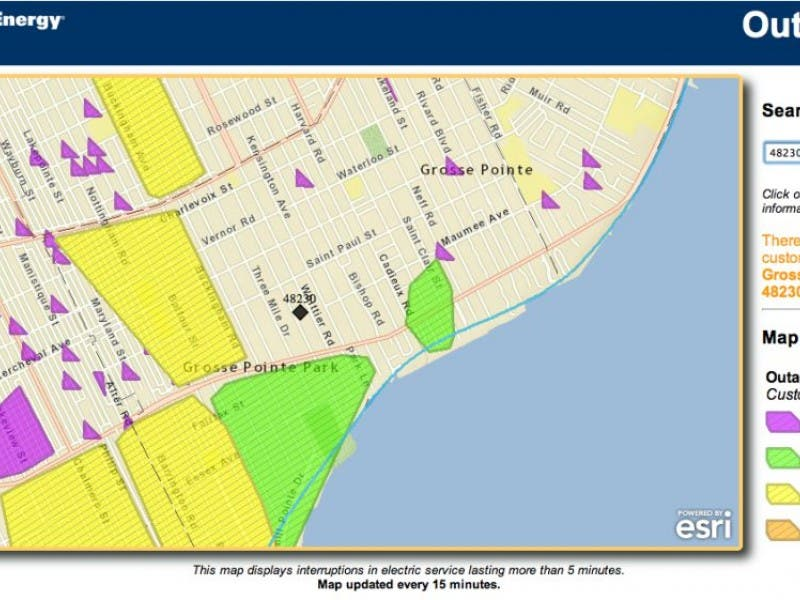 Power Outage Grows In Grosse Pointe Park Grosse Pointe Mi Patch