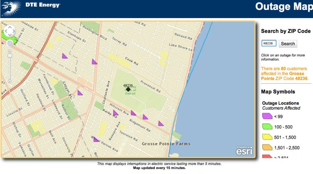 Power Outage Grows in Grosse Pointe Park | Grosse Pointe, MI ... on ameren outage map, cms energy outage map, dte service area map, entergy outage map, duke energy outage map, dte logo, first energy outage map, seattle city light outage map, power outage map, detroit edison outage map, comcast outage map, sth 104 wisconsin map, consumers energy outage map, xcel energy outage map, at&t outage map, centurylink outage map, macomb county dte outage map, pg&e outage map, ppl outage map, my dte outage map,