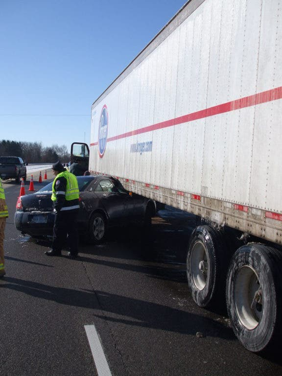 UPDATE: US 23 Clear After Two Accidents Today | Brighton, MI Patch