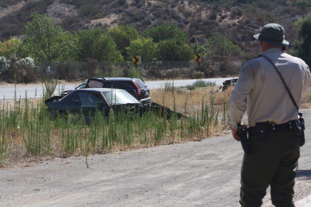 UPDATE: Crash Closes Bundy Canyon In Wildomar   Lake