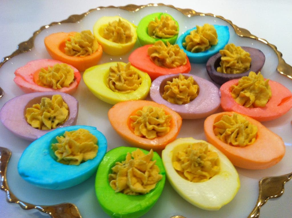 How To Make Rainbow Colored Deviled Eggs Dacula Ga Patch