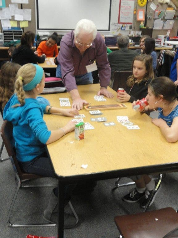 Cribbage Pegged as Common Hobby for Apple Valley Middle