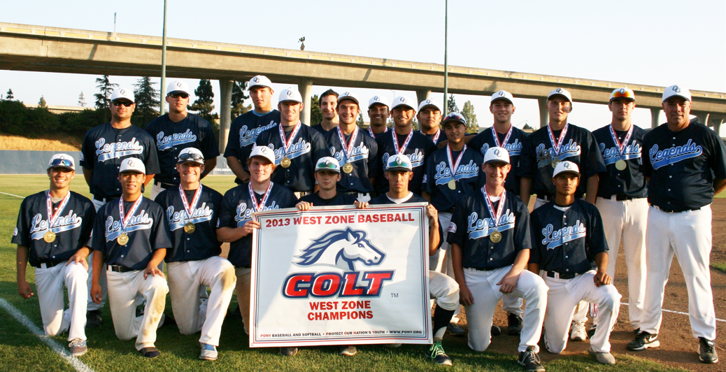Los Gatos Legends Win Colt World Series For Third Year in a