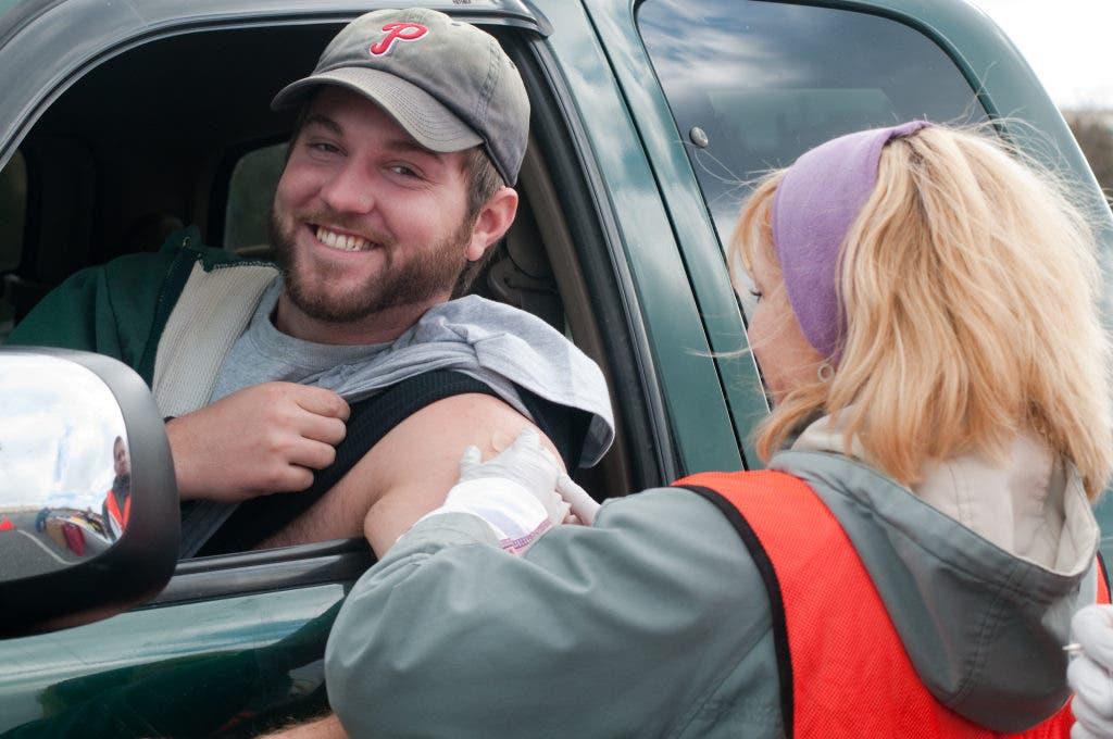 LVH To Give Free Flu Shots At Dorney Park Drive-Thru | South