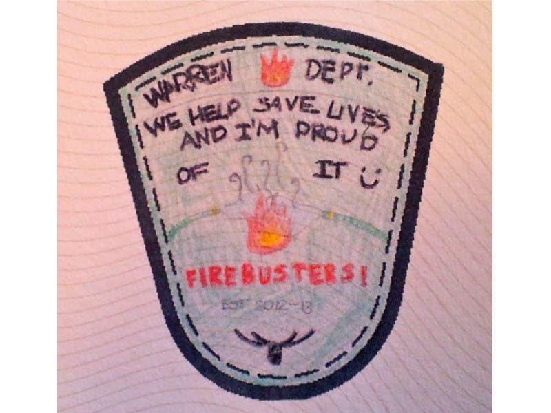 Students Fire Department Patch Designs Earn Recognition