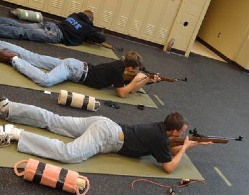 Seneca Valley Battalion Rifle Team Competes in Air Rifle
