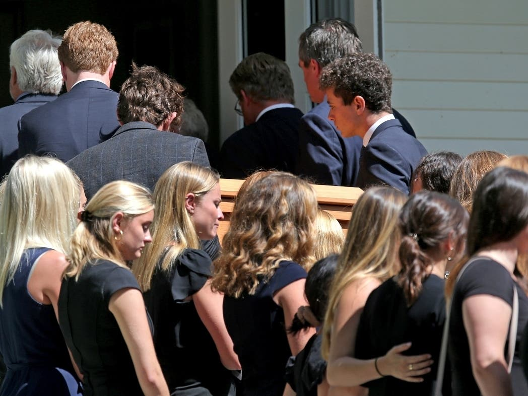 Funeral For Saoirse Kennedy Hill Held On Cape Cod