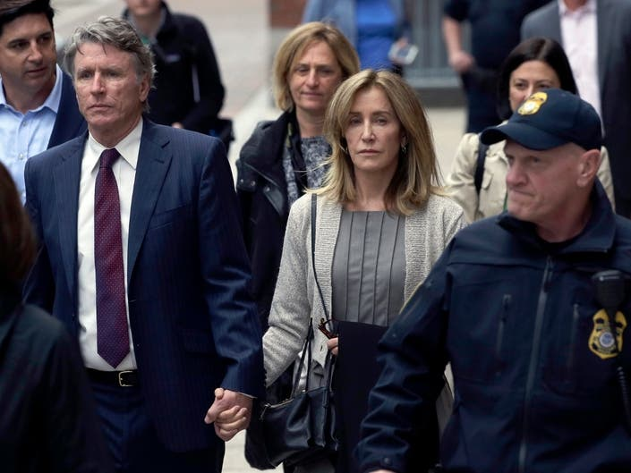 Felicity Huffman Gets Prison In College Admissions Scandal