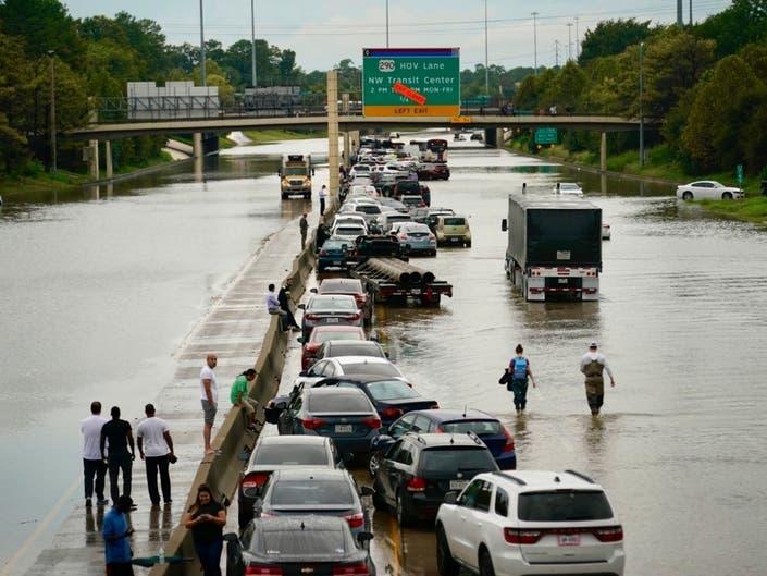 Imelda Floods Houston Region; 2 Deaths Reported