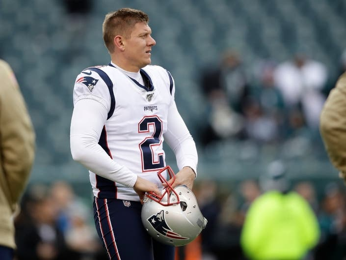 Patriots Cut Kicker After Appendectomy: Patch PM
