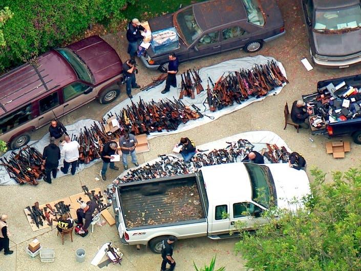 Suspect In Getty-Linked Bel Air Mansion Gun Cache Faces Judge