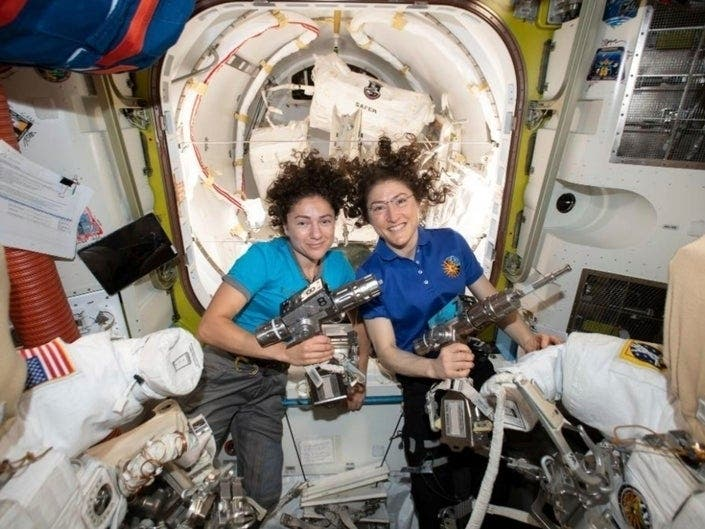 UCSD Alumna Reflects On All-Female Space Walk