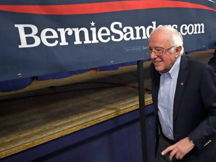 Bernie Sanders To Make Campaign Stop In Rancho Mirage