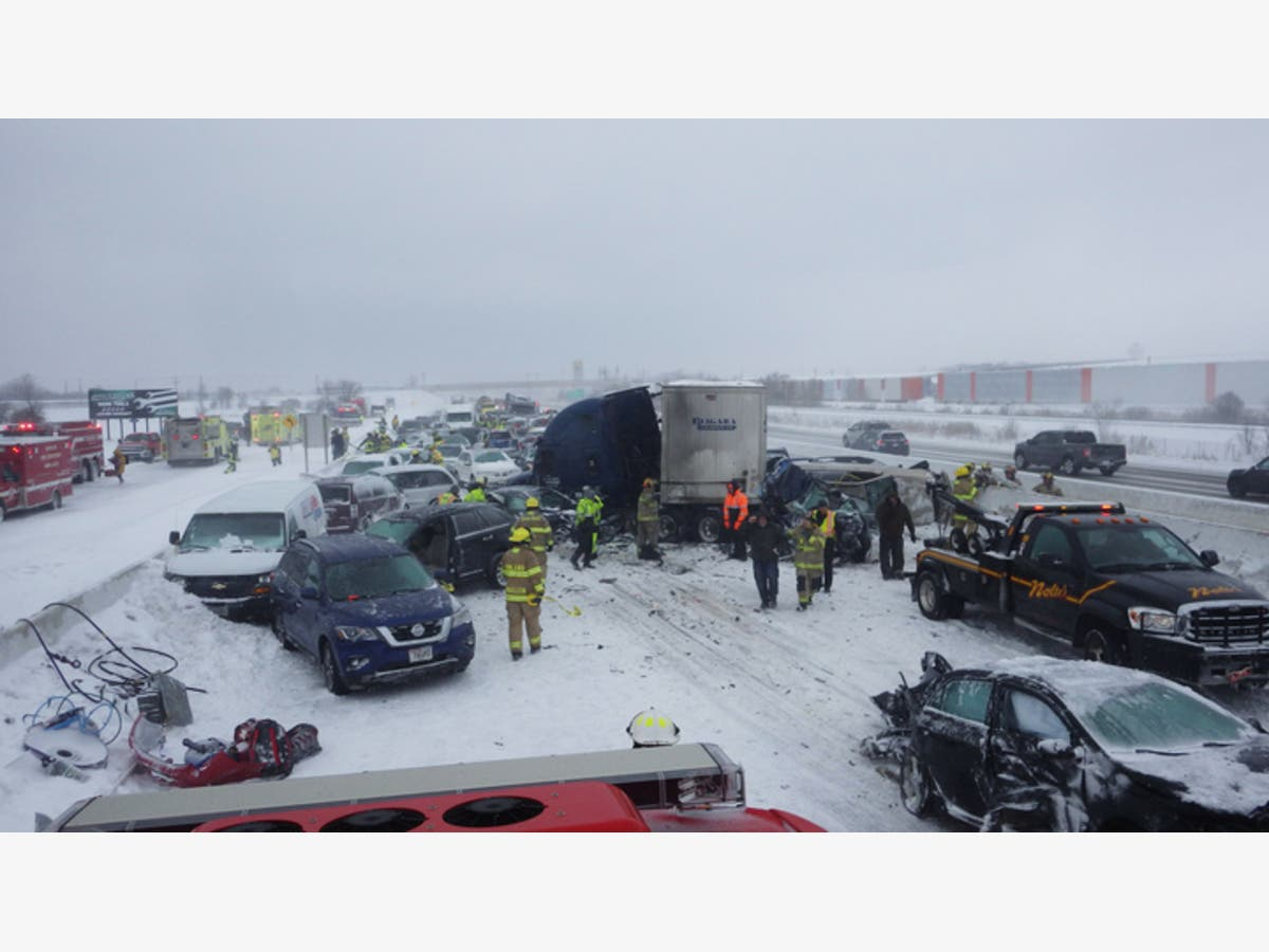 Man Who Died In Wisconsin 131-Car Pileup Identified | Brookfield, WI